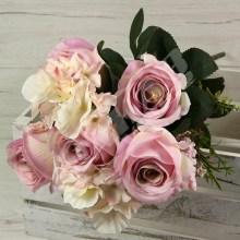Kytica ruža hortenzia x11  YX1004