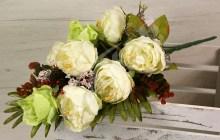 Kytica pivónia ruža x8  JX173