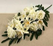 Kytica ruža ľalia anemonka x16  JX1521