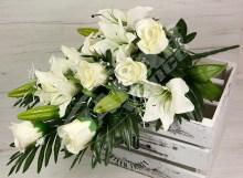 Kytica ruža ľalia x17  JX1006